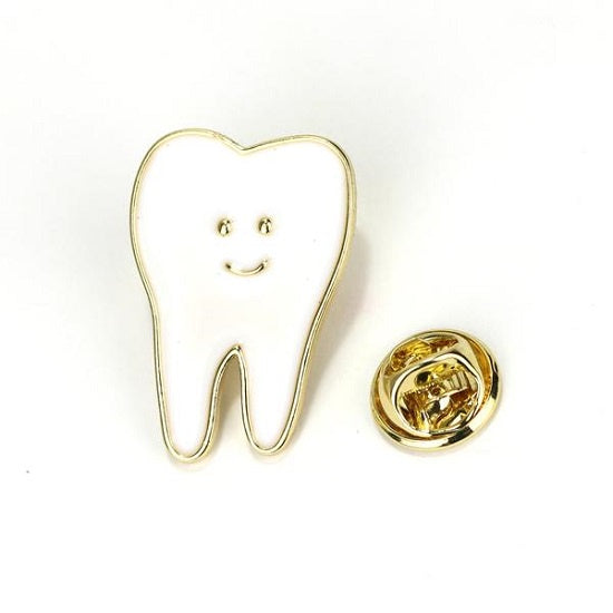 Tooth Pin Gold