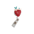 Organ Heart Crystal ID Badge