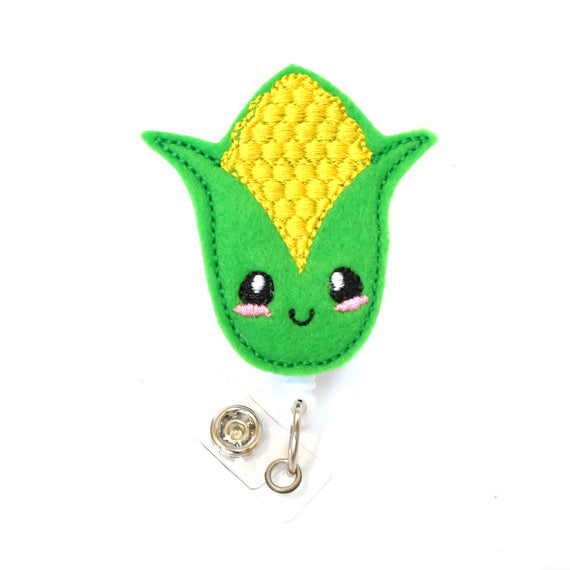 KAWAII CORN ID BADGE