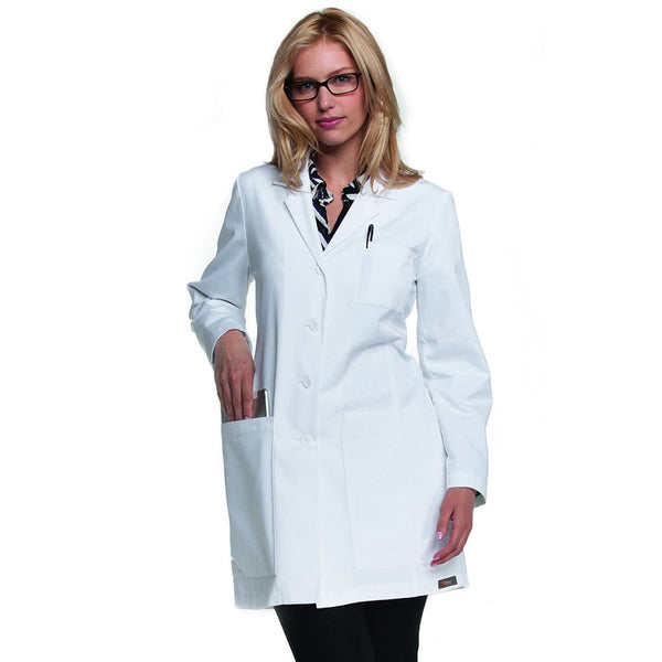 "Women's 34"" Princess Seam Labcoat 4451"