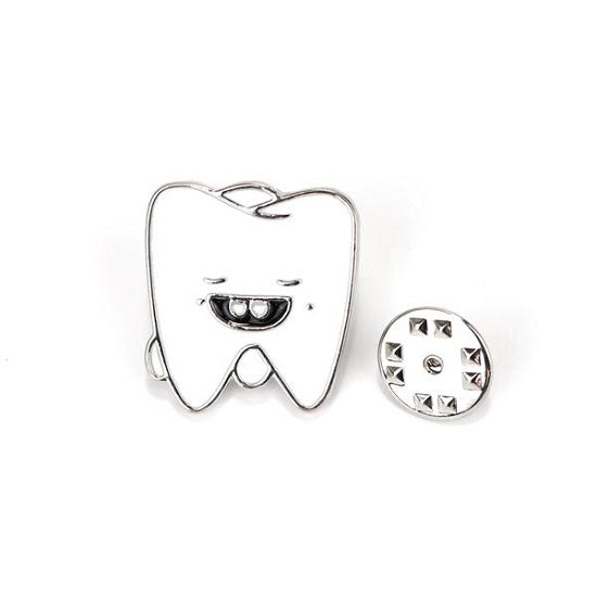 Tooth Pin Silver