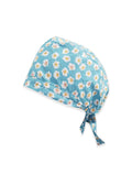 Daisy Flower Printed Surgical Hat