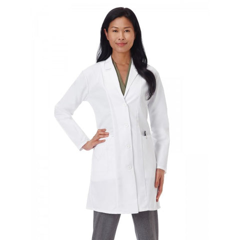 "Meta Embroidered 36"" Labcoat 767"