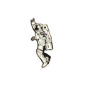 UAE Space Man Lapel Pin with Magnetic clasp