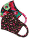 Reversible Face Mask Pack of 2 - Ditsy Floral Raspberry/Bloomerang Floral