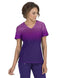Reform Womens V-neck Ombre Top & Spirit Stretch Pant Set