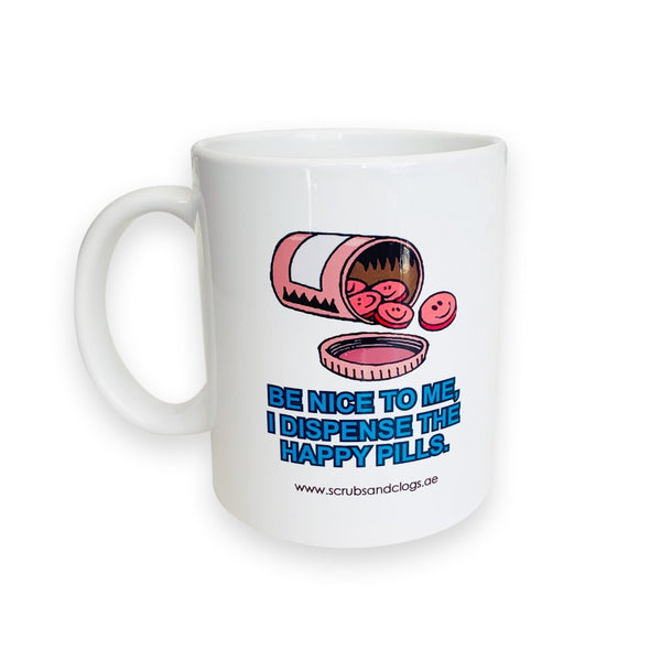 Happy Pills Ceramic Coffee Mug