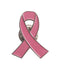 Breast Cancer Awareness Pin Silver