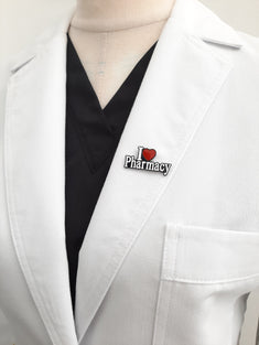 I Love Pharmacy Pin