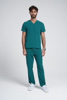 Men's Modern V-neck Addition Scrub Set A6010-A6106