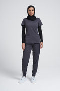 Juliet V Neck Top & Tara Jogger Pant Scrub Set