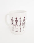 Skeleton Ceramic Coffee Mug
