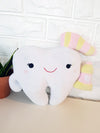 Tooth Bolster Cushion Doll Pink