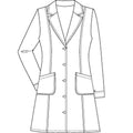 "Women's 36"" Labcoat 2410"