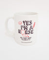 Yes I am a Nurse Ceramic Coffee Mug
