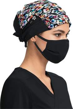 Covid In Flower Surgical Hat - A129 - CF02
