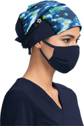 Cheetah Tie Dye Surgical Hat - A129 - CT113