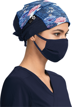 Falling Rose Surgical Hat - A129 - FGR