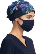 Ossie Floral Surgical Hat - A129 - OSF