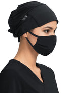 Unisex Surgical Scrub Hat - Black