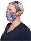Fashion Mask + Headband Set - Line Floral