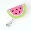 WATERMELON SLICE-FELT BADGE