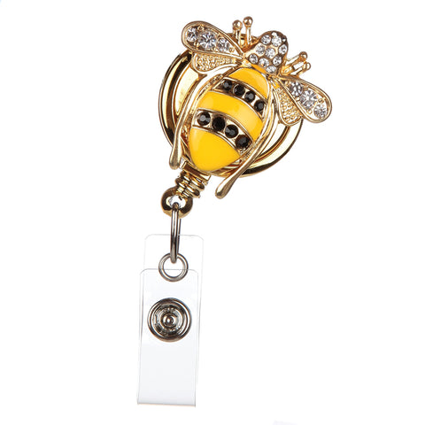 QUEEN BEE BADGE REEL