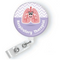 LUCY LUNG-RESPIRATORY THERAPIST FELT ID BADGE