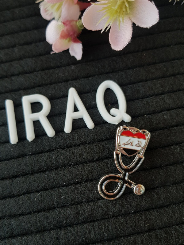 Iraq Flag Pin