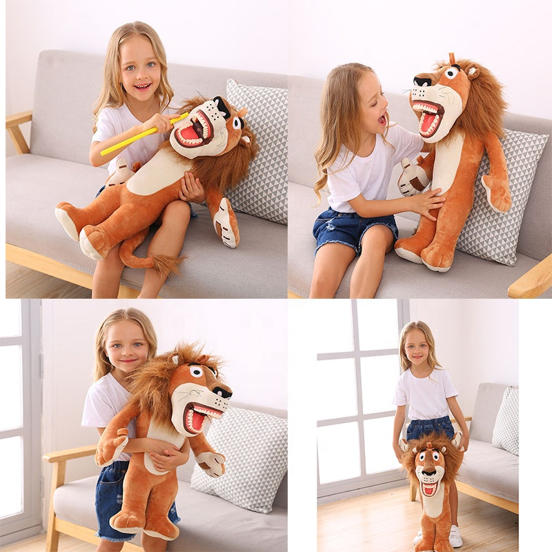 Lion Dental Stuff Doll
