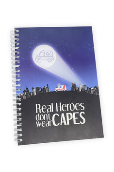 Real Heroes Notebook