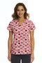 Cat In Love Printed Scrub Top 1767 CIL