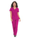 Katie & Holly Women's Scrub Set - Azalea Pink - XL
