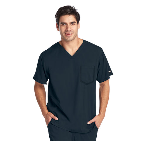 Grey's Anatomy Impact Men's 3 Pocket Crossover V-Neck Top 0118