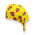 Yellow Rose Surgical Hat