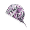 Illusion Pink Design Surgical Hat