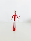 Tooth Man Pen Red