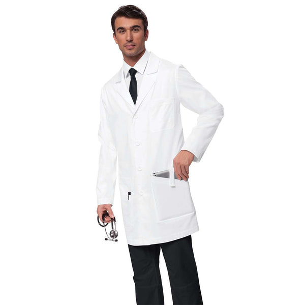 JACK Classic button-front lab coat for men