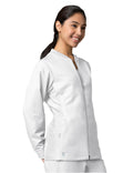 Active Sporty Mesh Panel Jacket 8708