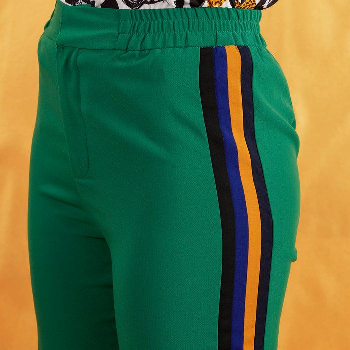 Green Luxe Trouser