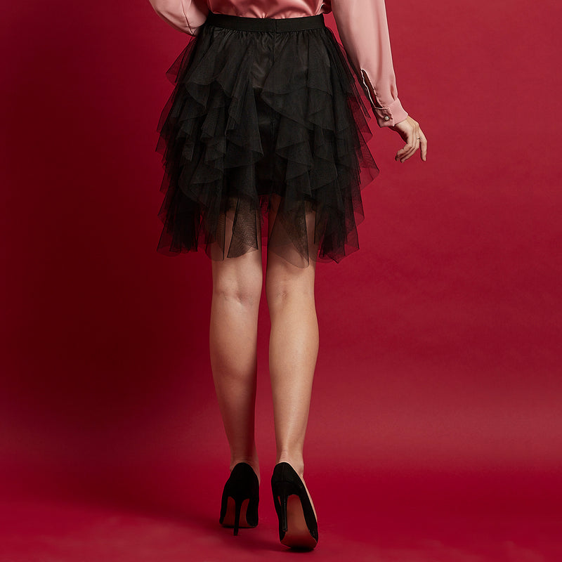 Black Net Skirt (tulle)