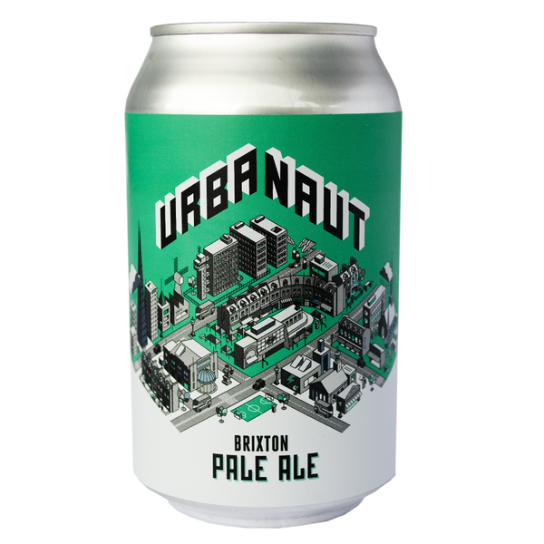 One can of Urbanaut Pale Ale Beer