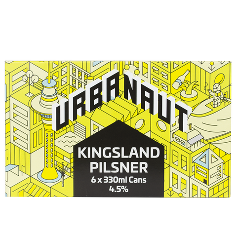 Kingsland Pilsner - 6 x 330ml Cans