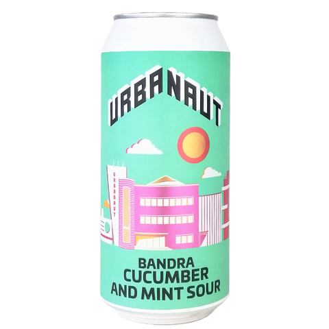 Bandra Cucumber and Mint Sour - 1 x 440ml Can