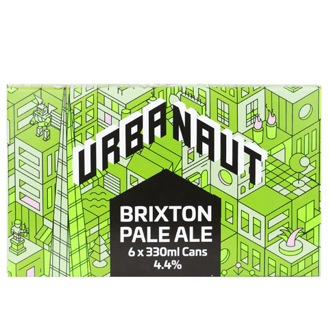 Brixton Pale Ale - 6 x 330ml Cans