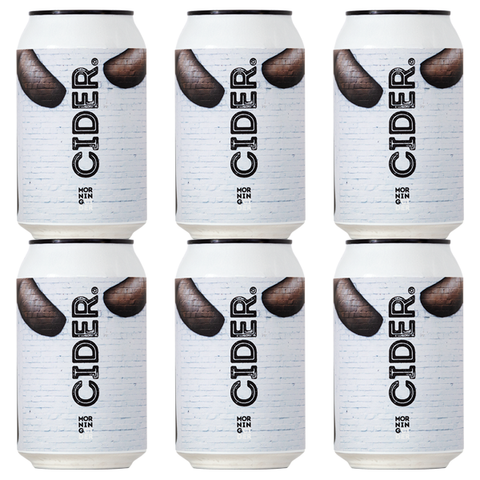 Morningcider Cider - 6 x 330ml Cans