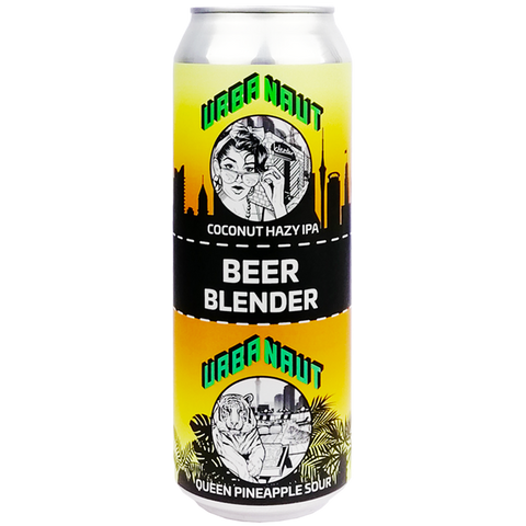 Beer Blender Coconut Hazy IPA x Queen Pineapple Sour - 2 x 250ml Cans