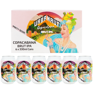 Copacabana Brut IPA - 6 x 330ml Cans
