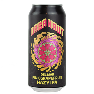 Del Mar Pink Grapefruit Hazy IPA - 1 x 440ml Can