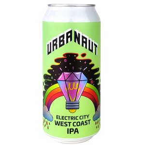 Electric City West Coast IPA - 1 x 440ml Can